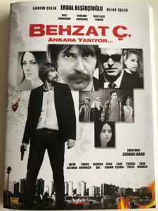 Behzat Ç Ankara Yanıyor DVD 2013 / Directed by Serdar Akar / Starring: Erdal Beşikçioğlu, Nejat İşler, Fatih Artman, Aslı Tandoğan, İnanç Konukçu, Berkan Şal, Seda Bakan (8697333003154)