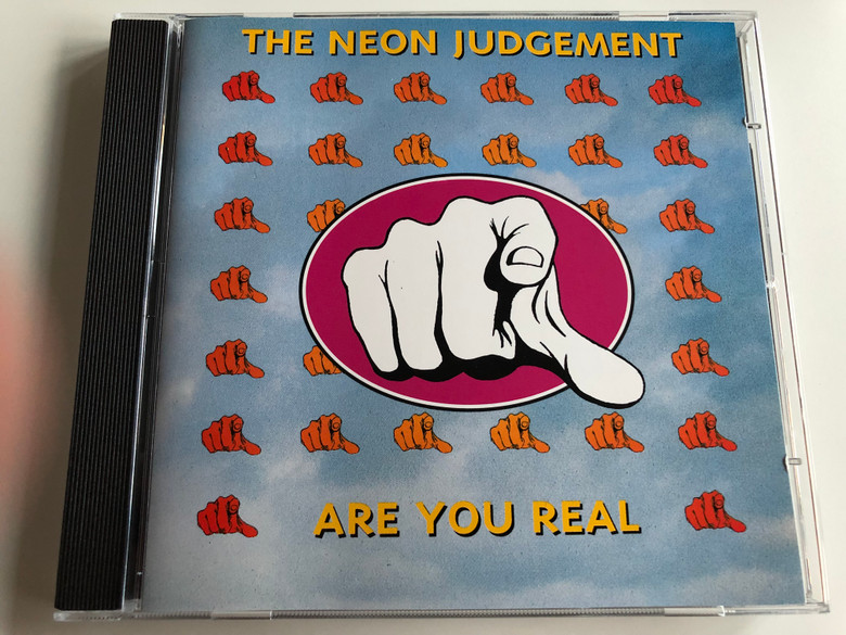 The Neon Judgement – Are You Real / Play It Again Sam Records Audio CD / BIAS 204 CD