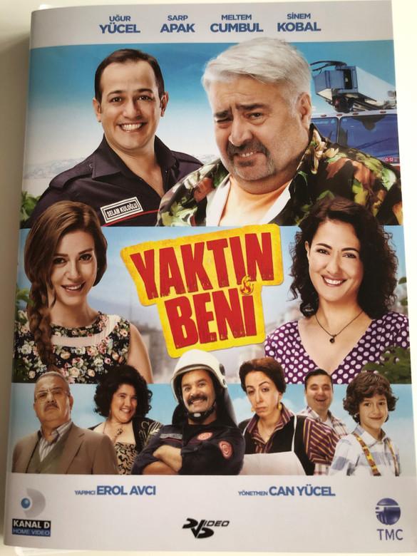 Yaktin Beni DVD 2015 / Directed by Can Yücel / Starring: Uğur Yücel, Sarp Apak, Meltem Cumbul, Sezai Aydın, Sinem Kobal (8697762829158)