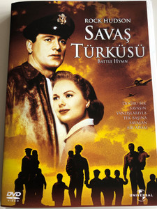 Battle Hymn DVD 1957 Savas Türküsü (AKA By Faith I Fly) / Directed by Douglas Sirk / Starring: Rock Hudson, Anna Kashfi, Dan Duryea (8698907208296)