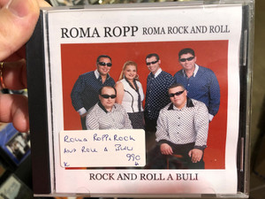 Roma Ropp - Roma Rock and Roll / Rock And Roll A Buli / MTP Audio CD / 5999884540007