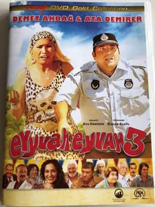 Eyyvah Eyvah 3 DVD 2014 / Directed by Hakan Algül / Starring: Ata Demirer, Demet Akbağ, Özge Borak, Serra Yılmaz (8697428130420)