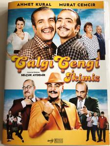 Çalgı Çengi İkimiz DVD 2017 / Directed by Selçuk Aydemir / Starring: Ahmet Kural, Murat Cemcir, Rasim Öztekin, Ayhan Taş (8693040407339)
