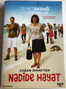 Nadide Hayat DVD 2015 / Directed by Çağan Irmak / Starring: Demet Akbağ, Yetkin Dikinciler, Ümit Erlim, Sevil Akı (8698907304073)