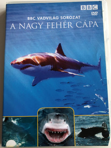 Great White Shark, The Silent Stalker DVD 1995 A Nagy Fehér Cápa / BBC Vadvilág Sorozat - BBC Wildlife Special - Presented by Sir David Attenborough / Természetfilm (5996473005190)