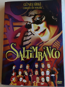 Cirque du Soleil - Saltimbanco DVD 1994 Güneş Sirki - Saltimbanco / Directed by Jacques Payette / Touring show by Cirque du Soleil (8680891600361)