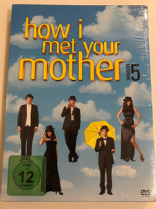 How I met your Mother Season 5 DVD 2010 The Complete S5 on 3 discs / Created by Carter Bays, Craig Thomas / Starring: Josh Radnor, Jason Segel, Cobie Smulders, Neil Patrick Harris, Alyson Hannigan, Cristin Milioti / HIMYM (4010232052964)