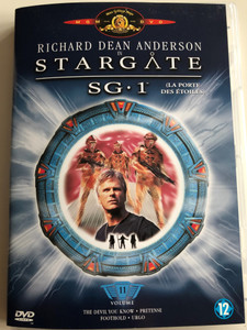 Stargate SG 1 - Volume 11 DVD La Porte Des Étoiles / Season 3 Episodes 13-16 / Created by Brad Wright, Jonathan Glassner / Starring: Richard Dean Anderson, Michael Shanks, Amanda Tapping, Christopher Judge, Don S. Davis, Corin Nemec (8712626007630)