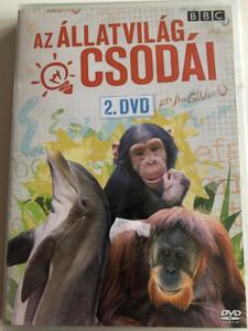 Extraordinary Animals 2. DVD 2008 Az állatvilág csodái, 2. / BBC / Epizódok: Az emberszabású majmok, A szuperszónikus Delfin, A Memória bajnok csimpánz / 3 Episodes