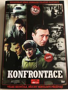 Konfrontace - 1. DVD Confrontation / Directed by Semjon Aranovič / Starring: Oleg Basilašvili, Andrej Boltnev, Jurij Kuznecov, Murman Džinorija, Viktor Gogolev / Czech Crime Series (8594067062085)