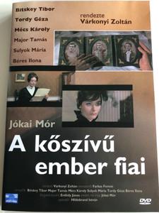 A kőszívű ember fiai DVD 1965 - Jókai Mór / Hungarian classic novel on film / Directed by Várkonyi Zoltán / Starring: Bitskey Tibor, Major Tamás, Mécs Károly, Sulyok Mária (5996357319092)