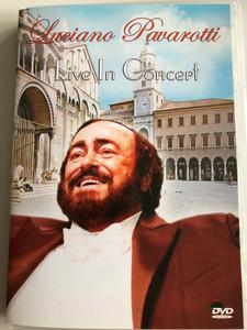 Luciano Pavarotti - Live in Concert DVD 2005 / The Modena Recital 1986 / Piano: Robert Kettelson / San Juan Music Group (5706238328095)