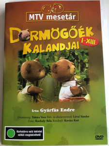 Dörmögőék kalandjai I-XIII. DVD MTV mesetár / Written by Gyárfás Endre / Directed by Kovács Kati / Music by Korbuly Béla / Hungarian Puppet movie (5996357312178)