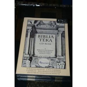 Biblia Teka Softwer / A BibliaT?ka CD-ROM a bibliatudomany komplett konyvtara