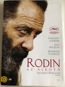 Rodin DVD 2017 Rodin az alkotó / Directed by Jacques Doillon / Starring: Vincent Lindon, Izïa Higelin, Séverine Caneele, Bernard Verley (5996471003259)
