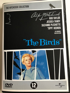 The Birds DVD 1963 Hitchcock Collection / Directed by Alfred Hitchcock / Starring: Rod Taylor, Jessica Tandy, Suzanne Pleshette, Tippi Hedren (3259190355897)