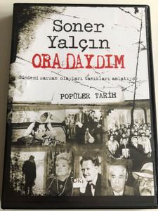 Soner Yalcin - Oradaydim DVD 2007 - Popüler Tarih / Gelecek Kusaklar Icin Yakin Tarih / Recent History of Turkey for future generations / Turkish language (SonerYalcinDVD2Popüler )