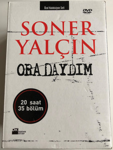 Soner Yalcin - Oradaydim DVD SET 2007 - 5 discs, 20 hours of content 35 episodes / Gelecek Kusaklar Icin Yakin Tarih / Recent History of Turkey for future generations (SonerYalcin-DVDSet)