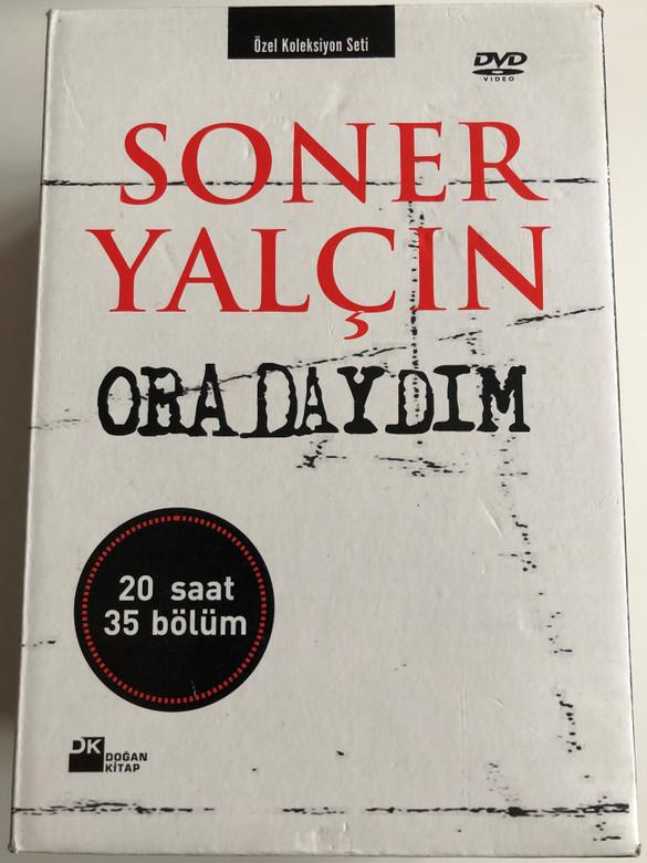 Soner Yalcin - Oradaydim DVD SET 2007 - 5 discs, 20 hours of content 35 episodes / Gelecek Kusaklar Icin Yakin Tarih / Recent History of Turkey for future generations (SonerYalcin-DVDSet)