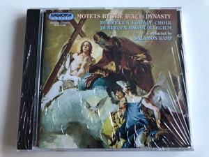 Motets By the BACH Dynasty / Debrecen Kodaly Choir, Debrecen Bach-Collegium / Conducted By: Salamon Kamp / Hungaroton Classic Audio CD 1992 Stereo / HCD 31549