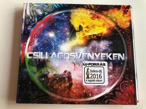 Új forrás - Csillagösvényeken / Etno Gospel - Az erő zenéje / Audio CD 2015 / Felkél Isten, Ha szólsz Hozzám, Újat cselekszem, Égő csipkebokor / Szerzői kiadás (CsillagosvenyekenCD)