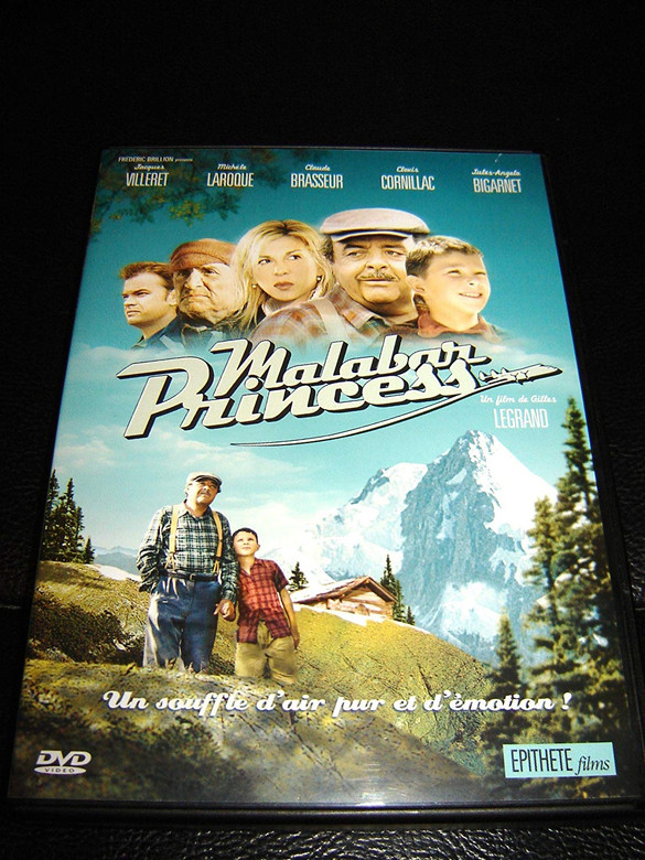 Malabar Princess DVD 2004 / Directed by Gilles Legrand / Starring: Jacques Villeret, Michèle Laroque, Claude Brasseur, Clovis Cornillac, Jules Angelo (7321950965779)