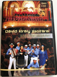 Dávid király zsoltárai - klezmerbe öltöztetve DVD&CD 2012 Sabbathsong Klezmer Band - Kinneret kamarakórus / Directed by Garai Róbert / The Psalms of King David in Klezmer style (David'sPsalmsKlezmerDVD-CD)