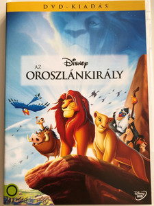 The Lion King DVD 1994 Az Oroszlánkirály / Directed by Roger Allers, Rob Minkoff / Starring: Matthew Broderick, James Earl Jones, Jeremy Irons, Moira Kelly, Nathan Lane (5996514017878)