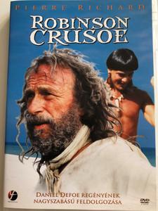 Robinson Crusoe DVD 2003 Daniel Defoe regényének nagyszabású feldolgozása / Directed by Thierry Chabert / Starring: Pierre Richard, Nicolas Cazalé, Jean-Claude Leguay (5999546332346)