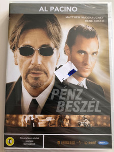 Two for the Money DVD 2005 Pénz beszél / Directed by D. J. Caruso / Starring: Al Pacino, Matthew McConaughey, Rene Russo (5998133173232)