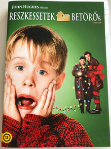 Home Alone DVD 1990 Reszkessetek betörők / Directed by Chris Columbus / Starring: Macaulay Culkin, Joe Pesci, Daniel Stern, John Heard, Catherine O'Hara (8590548601033)