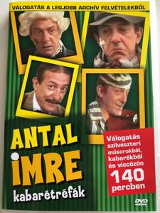 Antal Imre kabarétréfák DVD Válogatás a legjobb archív felvételekből / Europa Records ER6032 / Hungarian comedy show (5990502068439)
