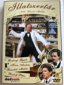 Illatszertár DVD 1987 Parfumerie / Directed by Hadúfy Miklós / Written by László Miklós / Starring: Bodrogi Gyula, Kern András, Benedek Miklós, Rudolf Péter (5996051439256)