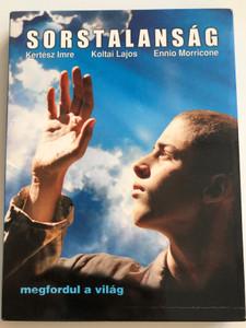 Sorstalanság DVD 2005 megfordul a világ / Directed by Koltai Lajos / Music by Ennio Morricone / Starring: Nagy Marcell, Haumann Péter, Harkányi Péter, Bán János, Schell Judit (5996255718829)