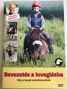 Börja Rida DVD 2001 Bevezetés a lovaglásba / Directed by Linder Velander / Swedish film - learn horseback riding! (7391970017253)