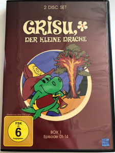 Grisu, der kleine drache DVD / 2 Disc Set / Box 1 / Episode 01-14 / Draghetto Grisù AKA Grisù il draghetto / Grisu the little dragon / Italian Animated cartoon (4260181983615)