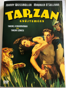 Tarzan Collection - Tarzan the ape man (1932) & Tarzan escapes (1936) DVD / Tarzan Gyűjtemény / Tarzan a majomember, Tarzan szökése / Directed by W.S. Van Dyke, Richard Thorpe / Starring: Johnny Weissmüller, Neil Hamilton, C. Aubrey Smith, Maureen O'Sullivan (5999048904119)