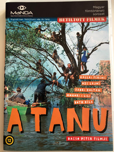 A Tanú DVD 1969 The Witness / Directed by Bacsó Péter / Starring: Kállai Ferenc, Monori Lili, Őze Lajos, Both Béla / Hungarian Classic / Hungarian Movie / Magyar Film / a.k.a. Without A Trace (5999884681335