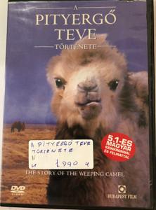 The Story of the Weeping Camel DVD A Pityergő Teve története / Directed by Luigi Falorni / Starring: Janchiv Ayurzana, Chimed Ohin, Amgaabazar Gonson, Zeveljamz Nyam (5999551920545)
