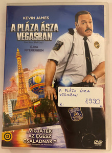 Paul Blart: Mall Cop 2 DVD 2015 A Pláza Ásza Vegasban / Directed by Andy Fickman / Starring: Kevin James , Raini Rodriguez, Neal McDonough, David Henrie (5996051210381)