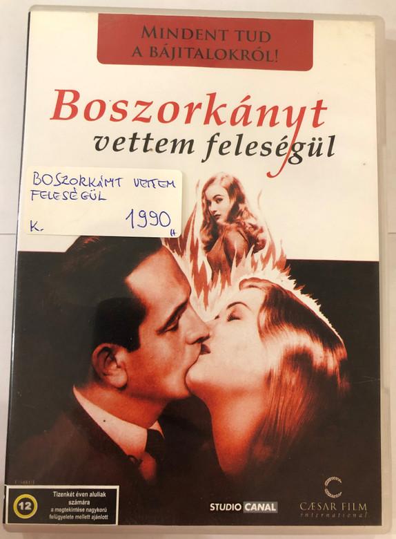 I married a witch DVD 1942 Boszorkányt vettem feleségül / Directed by René Clair / Starring: Veronica Lake, Fredric March / Black & White Classic (5999554700694)
