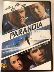 Paranoia DVD 2013 / Királyok között a gyalog lehet az igazi vezér / Directed by Robert Luketic / Starring: Liam Hemsworth, Gary Oldman, Amber Heard, Harrison Ford, Lucas Till, Embeth Davidtz, Julian McMahon (5996514017151)