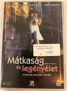 Bride & Prejudice DVD 2004 Mátkaság és legényélet / Directed by Gurinder Chadha / Starring: Aishwarya Rai, Martin Henderson, Daniel Gillies, Nadira Babbar (5999544151895)