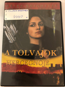 A Tolvajok Hercegnője DVD 2001 Princess of Thieves / Directed by Peter Hewitt / Starring: Keira Knightley, Malcolm McDowell, Stuart Wilson (5999546330816.)