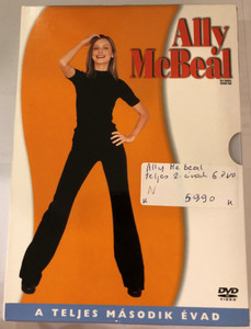 Ally McBeal Season Two DVD 2002 / 6 DISC SET Ally McBeal A teljes Második Évad / Created by David E. Kelley / Starring: Calista Flockhart, Courtney Thorne-Smith, Greg Germann, Lisa Nicole Carson, Jane Krakowski, Vonda Shepard, Portia de Rossi, Lucy Liu (5996255725131)