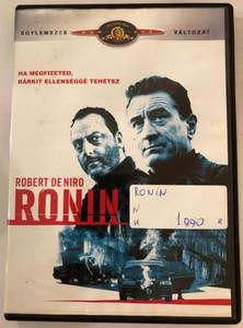 Ronin DVD 1998 / Directed by John Frankenheimer / Starring: Robert De Niro, Jean Reno, Natascha McElhone, Stellan Skarsgård, Sean Bean (5996255735765)