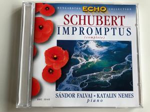 Schubert – Impromptus (Complete) / Piano: Sándor Falvai, Katalin Nemes / Hungaroton Classic Audio CD 1999 Stereo / HRC 1040