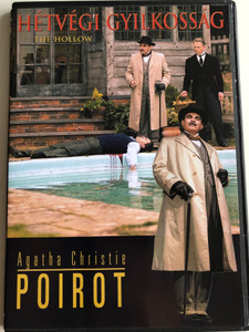 Agatha Christie's Poirot: The Hollow DVD 2004 Poirot: Hétvégi gyilkosság / Directed by Simon Langton / Starring: David Suchet, Edward Fox, Tom Georgeson, Jonathan Cake, Jamie de Courcey (5999546330410)