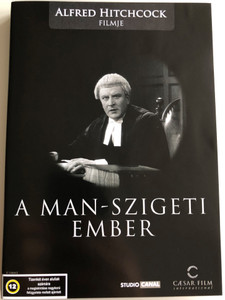 The Manxman DVD 1929 A Man-Szigeti Ember / Directed by Alfred Hitchcock / Starring: Anny Ondra, Carl Brisson, Malcolm Keen / Hitchcock's last silent movie / Black & White (5999554700779)