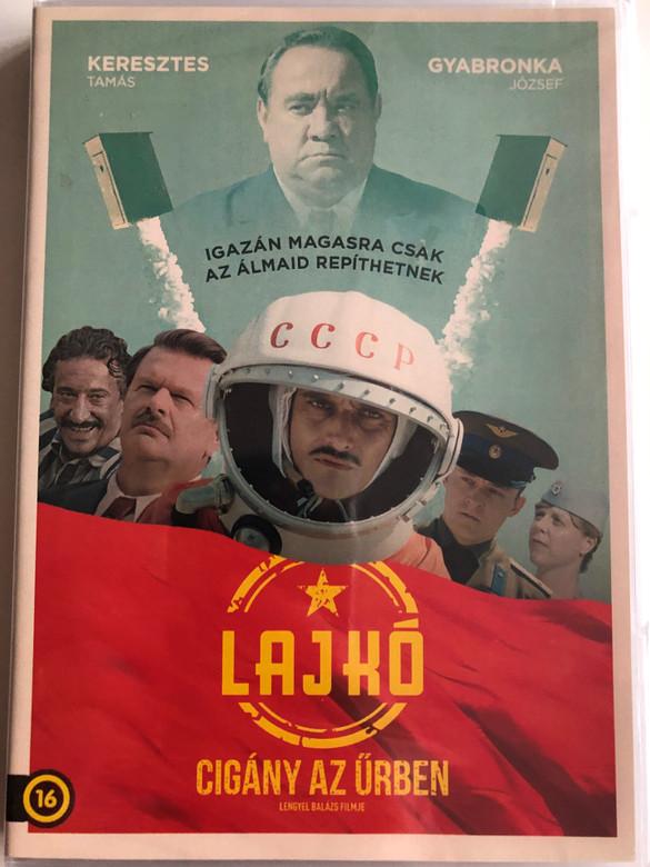 Lajkó - Cigány az Űrben DVD 2018 / Directed by Lengyel Balázs / Starring: Keresztes Tamás, Gyabronka József, Pálffy Tibor, Bohdan Benyuk (8590548617034)